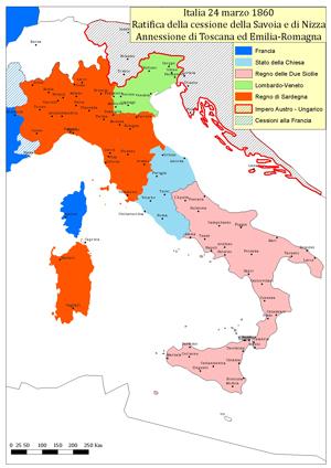 Cartina Dell Italia Nel 1815.La Scuola Per I 150 Anni Dell Unita D Italia La Geografia