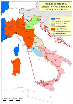 Cartina Italia Unita 1861.La Scuola Per I 150 Anni Dell Unita D Italia La Geografia Dell Italia